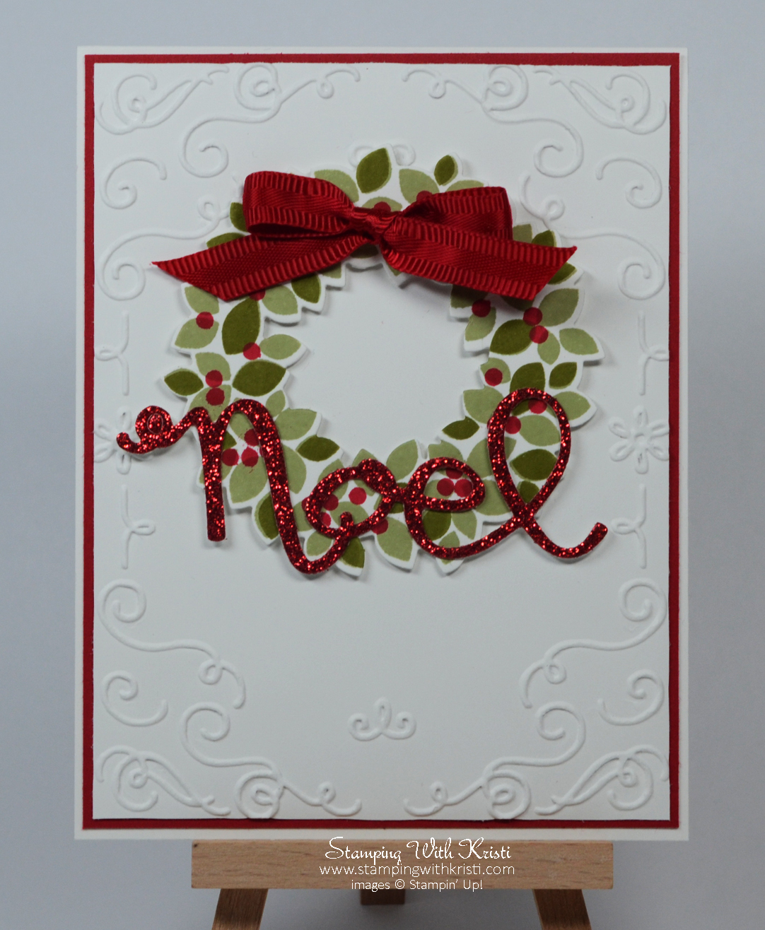 Embossed Christmas Cards