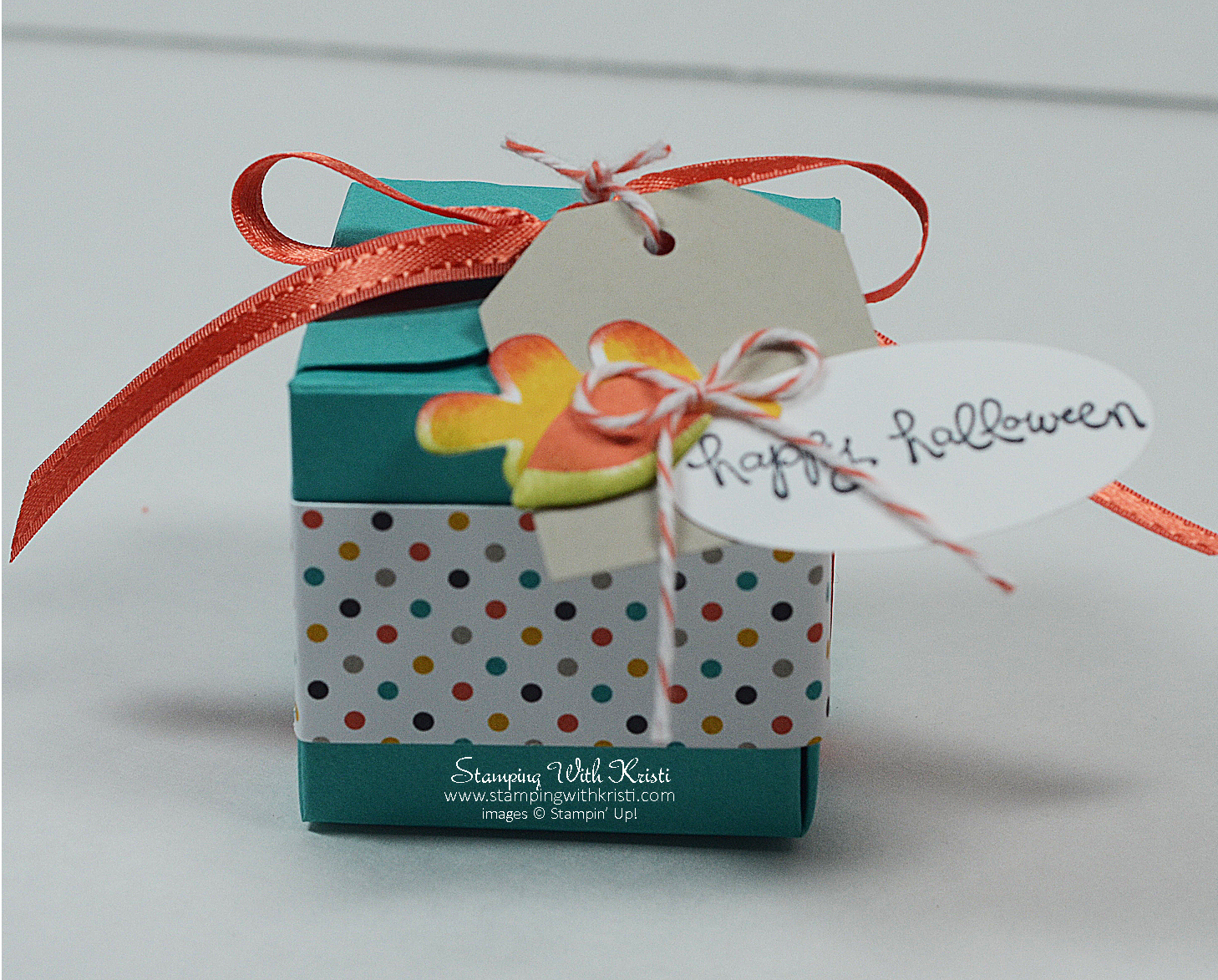 Gift Box Punch Board Fall Fest Boxes