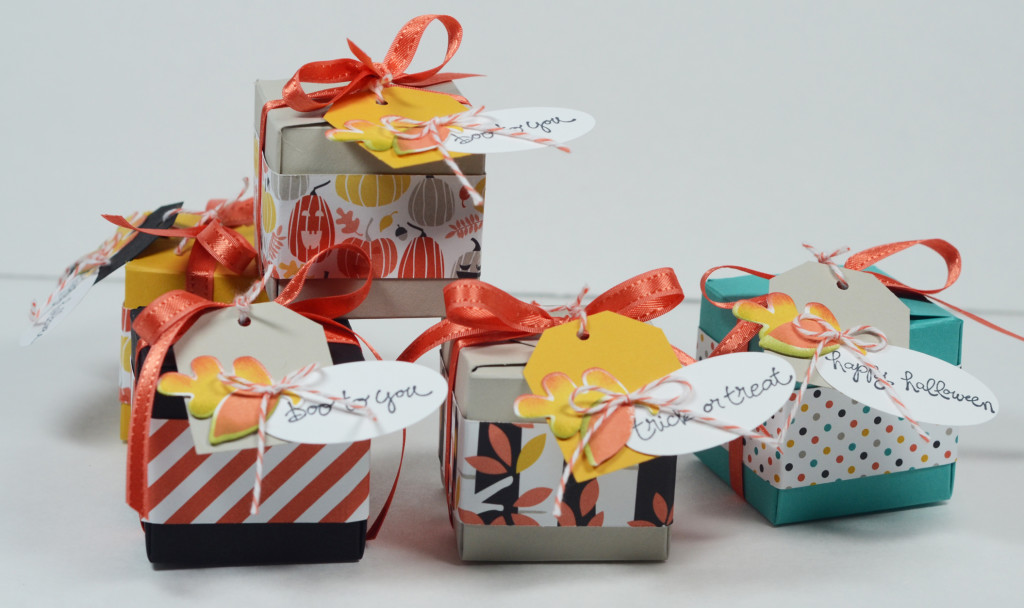 Stampin Up Gift Box Punch Board Fall Fest boxes by Kristi @ www.stampingwithkristi.com