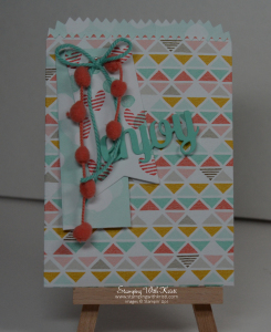 Stampin Up mini treat thinlits by Kristi @ www.stampingwithrkristi.com
