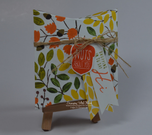 Stampin Up Pillow Box project by Kristi @ www.stampingwithkristi.com