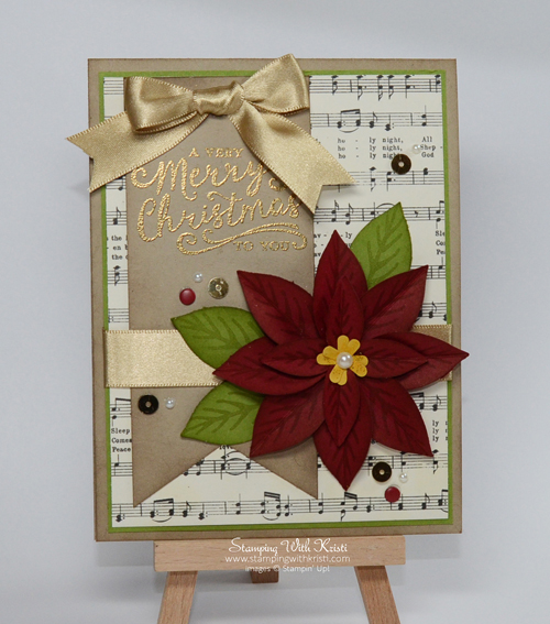 Stampin Up Reason for the Season card by Kristi @ www.stampingwithkristi.com