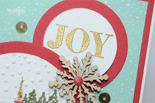 Stampin Up Cozy Christmas card by Kristi @ www.stampingwithkristi.com