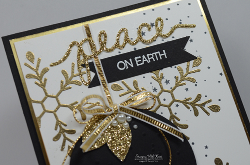 Stampin Up Holly Jolly Greetings card by Kristi @ www.stampingwithkristi.com