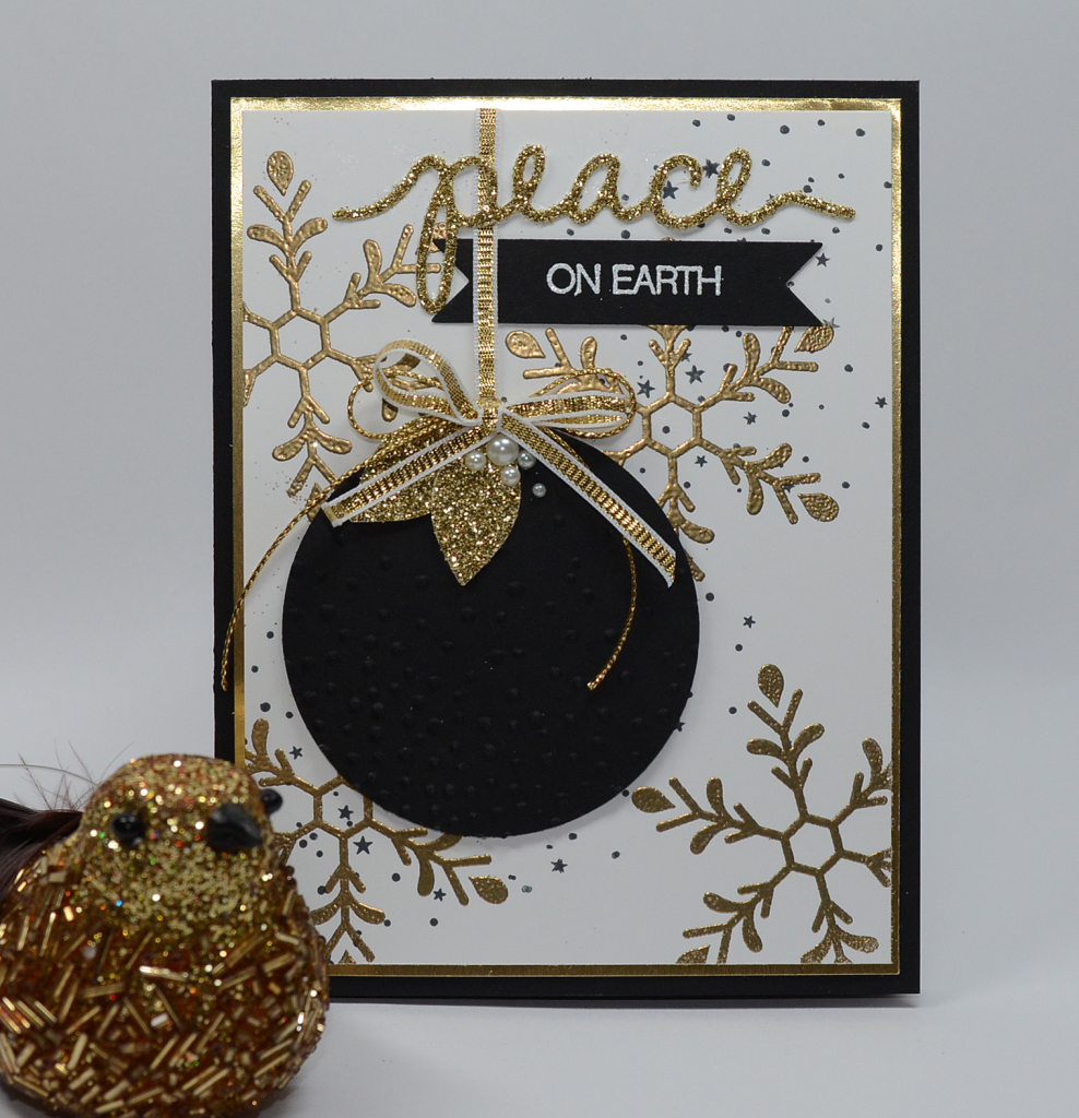 Stampin Up Holly Jolly Greeting card by Kristi @ www.stampingwithkristi.com