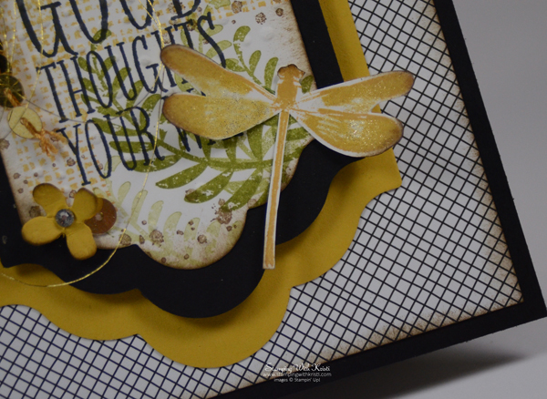 Stampin Up Awesomely Artistic card by Kristi @ www.stampingwithkristi.com