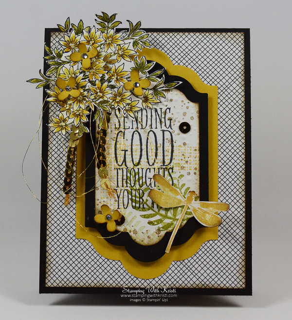 Stampin Up Awesomely Artistic card by Kristi @ www.stamingwithkristi.com