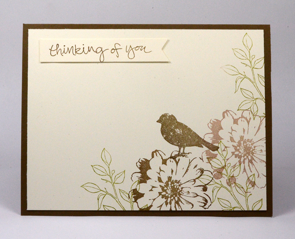 Stampin Up Choose Happiness card by Kristi @ www.stampingwithkristi.com