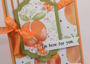 Stampin Up Fresh Fruit card by Kristi @ www.stampinwithkristi.com