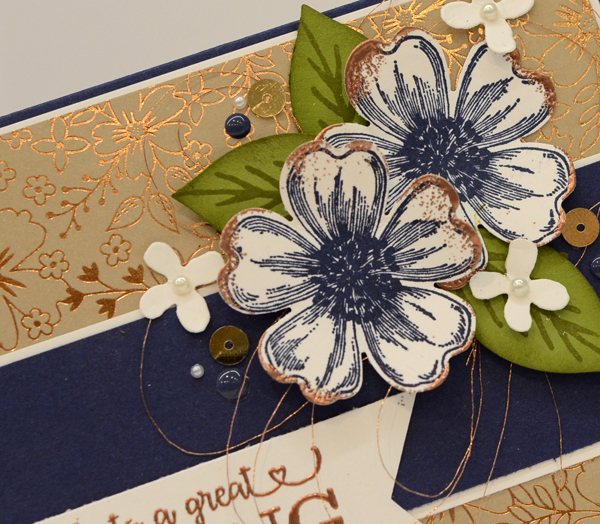 Stampin Up Affectionately Yours card by Kristi @ www.stampingwithkristi.com