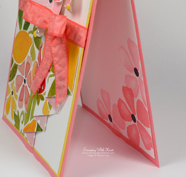 Stampin Up Fruit Stand card by Kristi @ www.stampingwithkristi.com