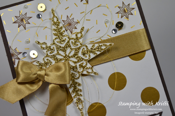 Stampin Up Star of Light card by Kristi @ www.stampingwithkristi.com
