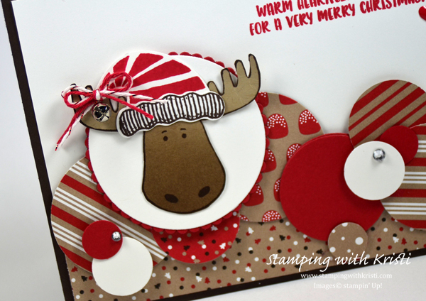Stampin Up Jolly Friends card by Kristi @ www.stampingwithkristi.com