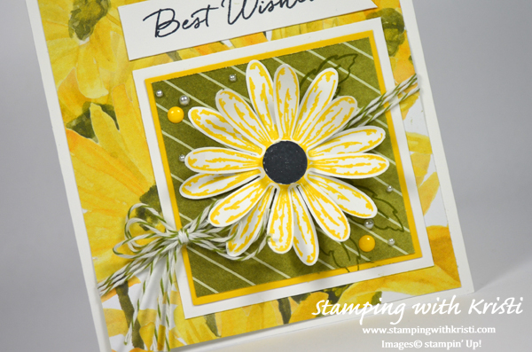 Stampin Up Daisy Delight card by Kristi @ www.stampingwithkristi.com