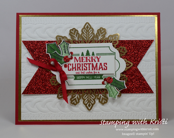 Stampin' Up! Labels to Love card by Kristi @ www.stampingwithkristi.com