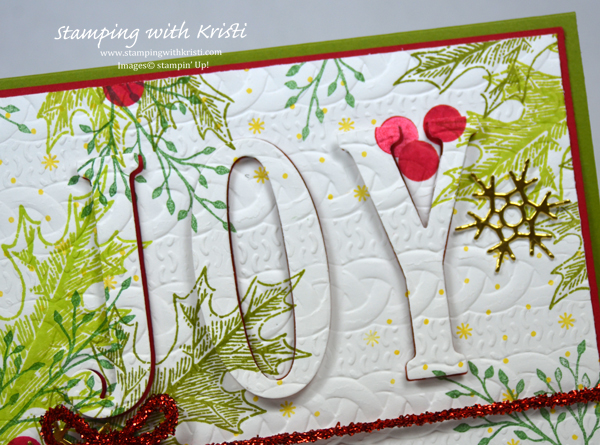 Christmas card, Stampin Up, Vintage Leaves, Kristi Gray, www.stampingwithkristi.com, eclispe card