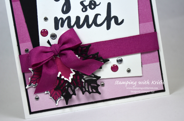 Stampin Up, Color Theory, card by Kristi @ www.stampingwithkristi.com