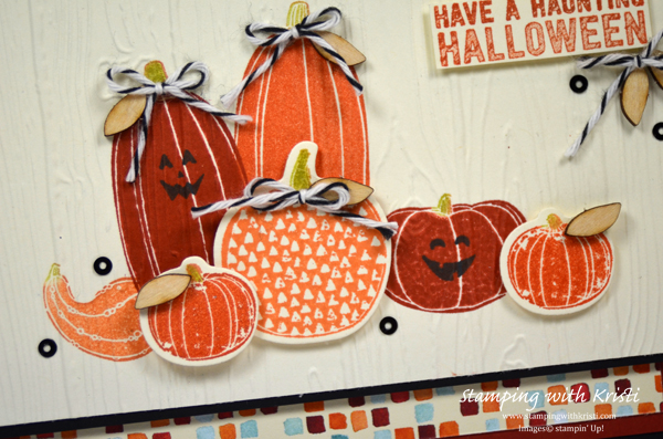 Stampin Up, Pick a Pumpkin, card by Kristi Gray @ www.stampingwithkristi.com