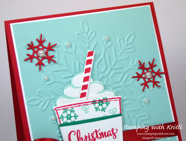 Nov 16Stampin' Up! Winter Wonder and Merry Cafe card by Kristi @ www.stampingwithkristi.com