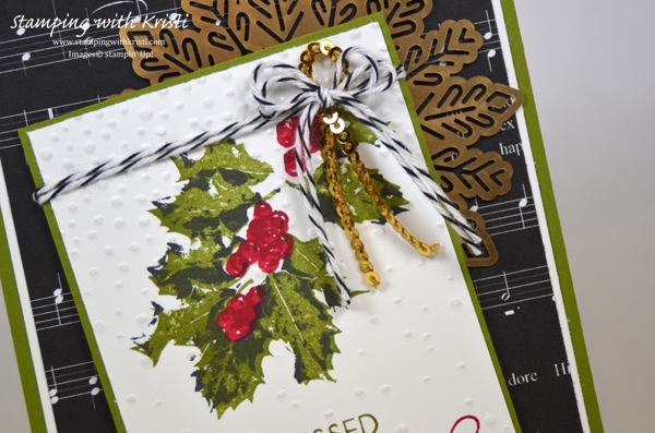 Stampin Up Good Tidings card by Kristi @ www.stampingwithkristi.com