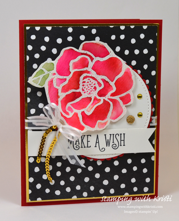 Stampin' Up! Beautiful Day card by Kristi @ www.stampingwithkristi.com