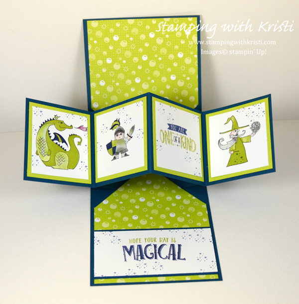Stampin' Up! Magical Day card by Kristi @ www.stampingwithkristi.com
