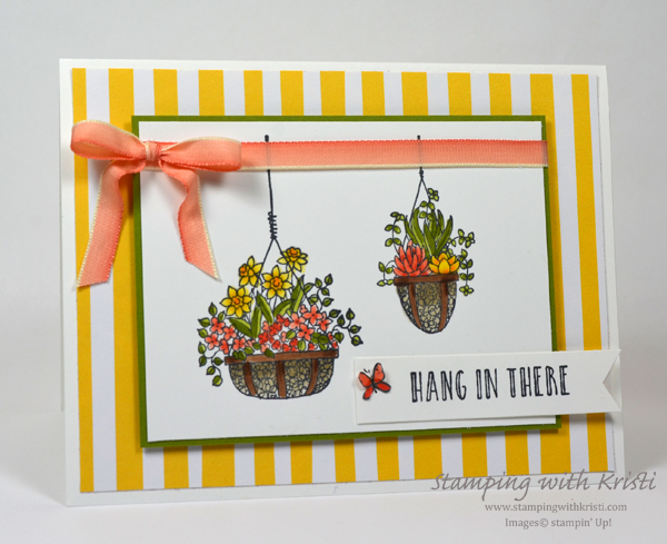 Stampin' Up! card by Kristi @ www.stampingwithkristi.com