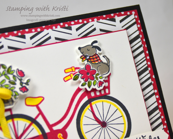 Stampin' Up! Bike Ride card by Krist @ www.stampingwithkristi.com