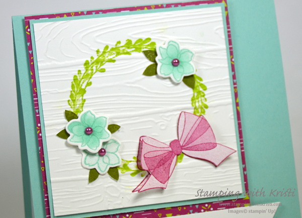 Stampin' Up! Wishing You Well card by Kristi @ www.stampingwithkristi.com