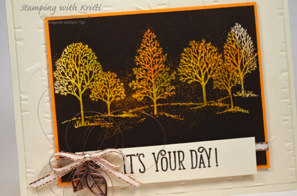 Stampin' Up! Lovely As A Tree card by Kristi @ www.stampingiwthkristi.com