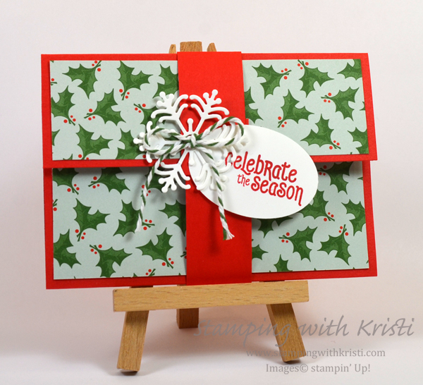 Stampin Up gift card holders by Kristi @ www.stampingwithkristi.com