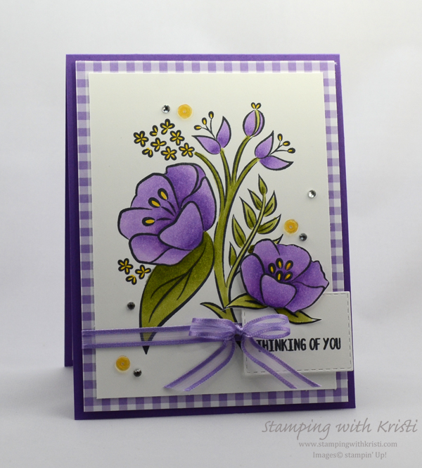Another All That You Are card by Kristi @ www.stampingwithkristi.com